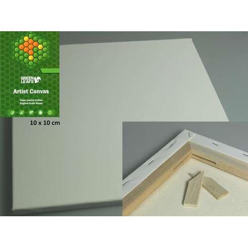 1 ST (1 ST) Canvasdoek 10x10CM  1,7 cm  420gram