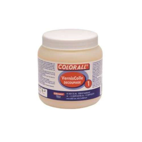 1 PT  (1 PT) Vernislijm Colle découpage-1 transparant 250ml