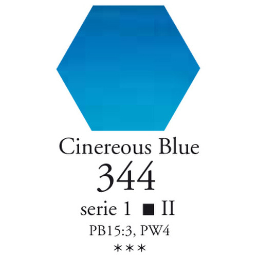 Sennelier L'aquarelle halve napjes blauwe as