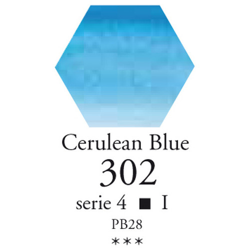 SennelierL'aquarelle halve napjes ceruleumblauw