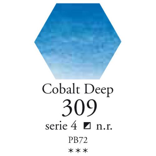 SennelierL'aquarelle halve napjes kobalt donkerblauw