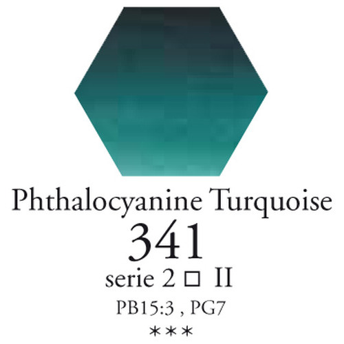 SennelierL'aquarelle halve napjes phthalocyanine turkoois