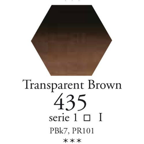 SennelierL'aquarelle halve napjes transparant bruin