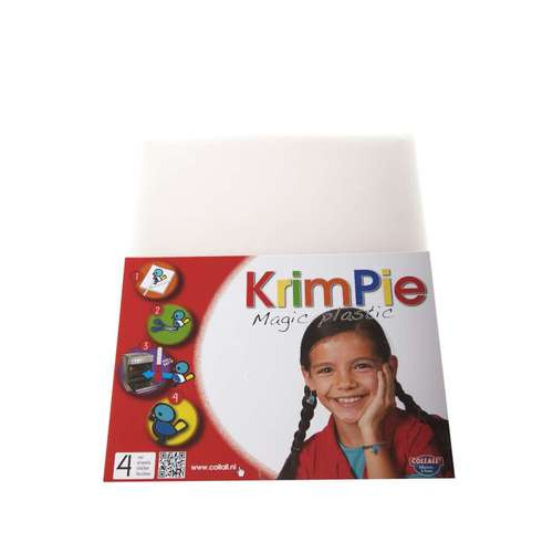 1 PK  (1 PK) Krimpie  - Magic Plastic  transparant 4 VL