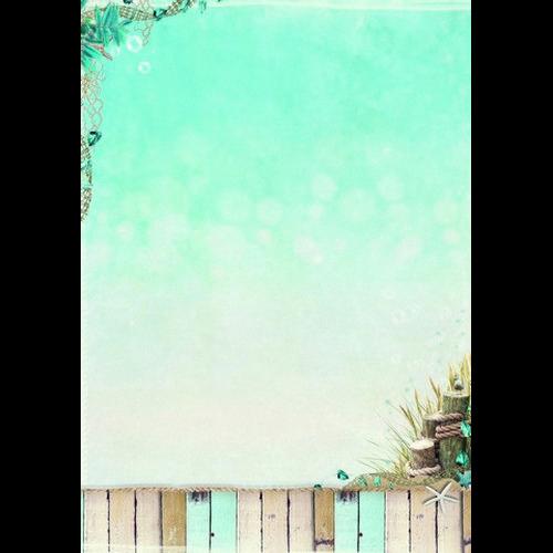 Studio Light Achtergrondpapier vel A4 Summer at Beach  193 BASISCH193 (new 06-15)