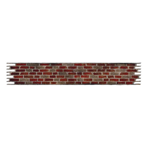 1 ST (1 ST)  Sizzlits Decorative Strip Die  Brick Wall 658240 Tim Holtz