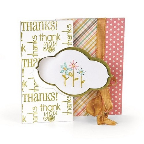 1 ST (1 ST) Movers & Shapers L Die Card, Dec. Flip-its 658839 Stephanie Barnard