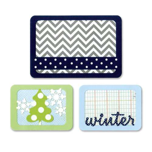 Sizzix® Thinlits™ Die Set 3PK - Winter 659757 Life Made Simple by Sizzix®