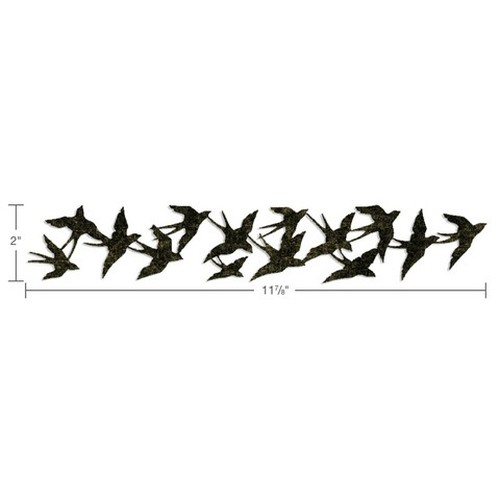 Sizzix  Decorative Strip Die - Birds in Flight 659425 Tim Holtz ( NEW 05-14 )