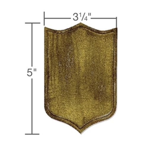 Sizzix  Movers & Shapers Die Armor Shield 659445 Tim Holtz ( NEW 05-14 )