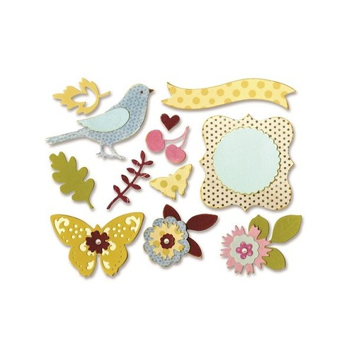 Sizzix Thinlits Die Set 23PK - Floral Wreath 660256 Brenda Walton ( 3-15 )