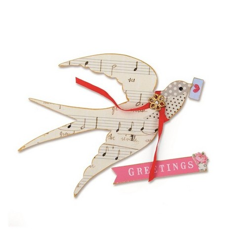 Sizzix Bigz Die - Flying Bird 660259 Brenda Walton ( 3-15 )