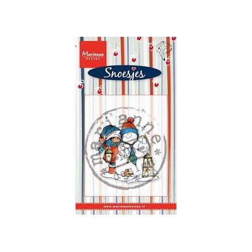Marianne Design - Clearstamp - Hetty Meeuwsen - Snoes & Sneeuwman