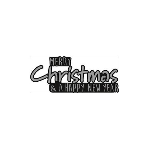 Marianne Design - Die - Craftables - Merry Christmas