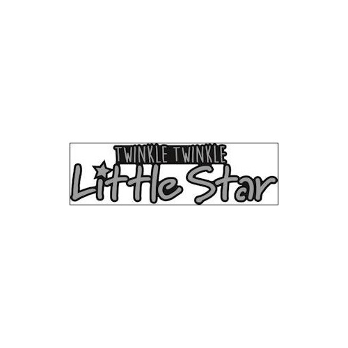 Marianne Design - Die - Craftables - Twinkle twinkle little star