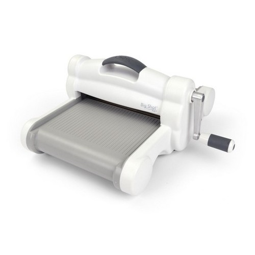Sizzix Big Shot PLUS Machine Only White & Grey 660020