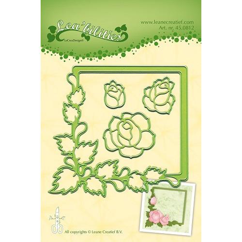 Lea'bilitie® Roses snij en embossing mal