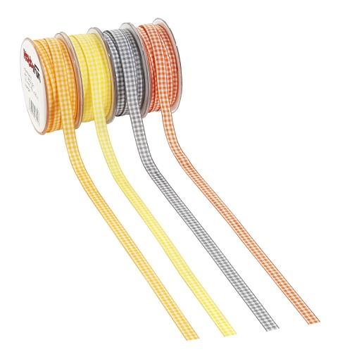 CREApop® Ruitenband, 6 mm, rol met 20 m, pompoen