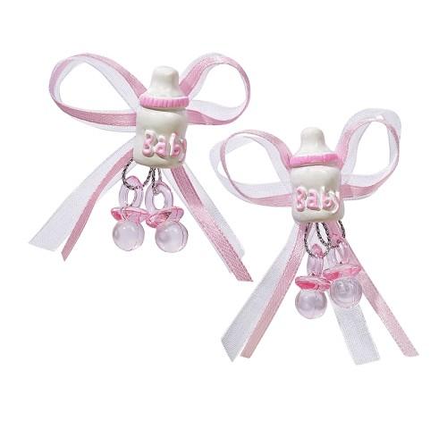 CREApop® Fles Babygirl, ca. 5 cm, buidel met 2 st