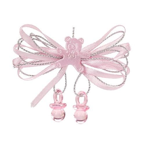 CREApop® Strik met tuitje, roze, buidel met 2 st