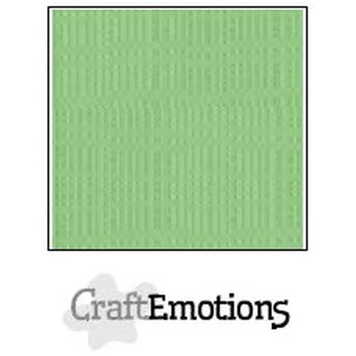 CraftEmotions linnenkarton 10 vel pistache 30,5x30,5cm / LC-64