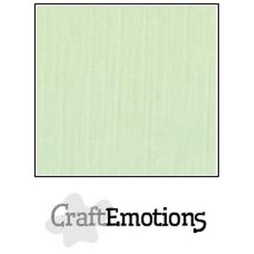 CraftEmotions linnenkarton 10 vel groen 30,5x30,5cm / LC-09