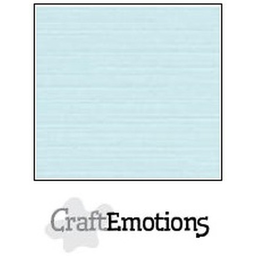 CraftEmotions linnenkarton 10 vel babyblauw 30,5x30,5cm / LC-35