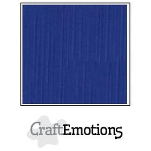 CraftEmotions linnenkarton 10 vel hemelsblauw 30,5x30,5cm / LC-46