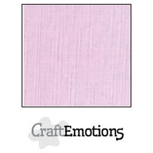 CraftEmotions linnenkarton 10 vel zacht lila 30,5x30,5cm / LC-19