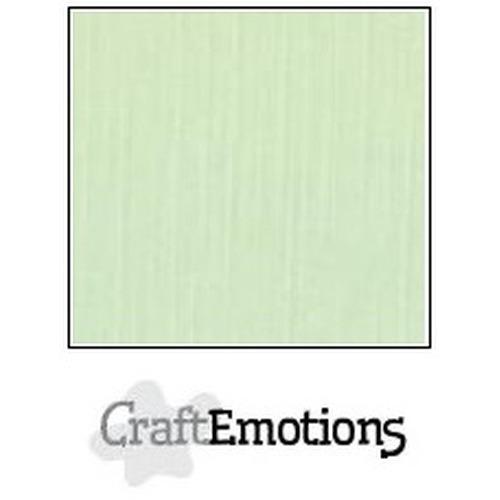 CraftEmotions linnenkarton 10 vel groen 27x13,5cm  250gr  / LHC-09