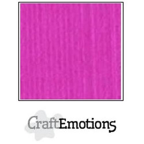 CraftEmotions linnenkarton 10 vel Koraalmagenta 27x13,5cm  250gr  / LHC-53