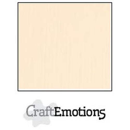 CraftEmotions linnenkarton 10 vel zand 27x13,5cm  250gr  / LHC-12