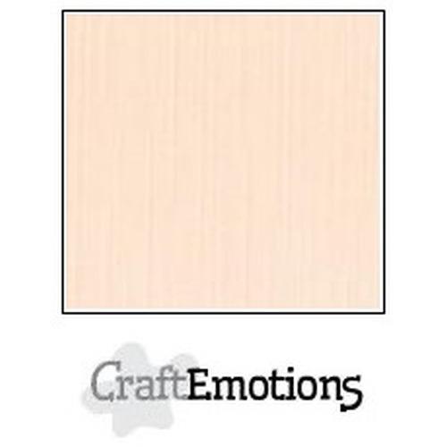 CraftEmotions linnenkarton 10 vel crème 27x13,5cm  250gr  / LHC-17