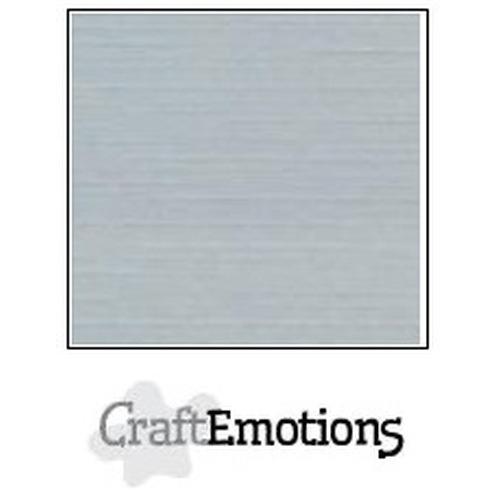 CraftEmotions linnenkarton 10 vel grijs 27x13,5cm  250gr  / LHC-71