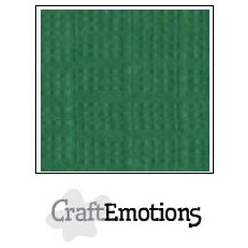 CraftEmotions linnenkarton 10 vel loofgroen 27x13,5cm  250gr  / LHC-63