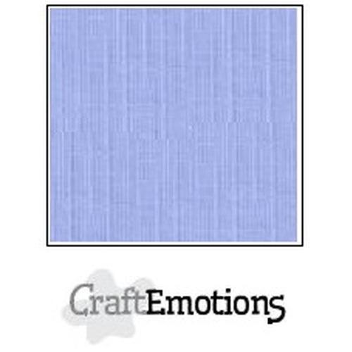 CraftEmotions linnenkarton 10 vel licht jeans 27x13,5cm  250gr  / LHC-42