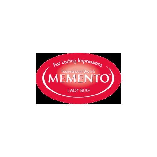 MD-000-300 Memento Inkpad Dewdrops Lady bug