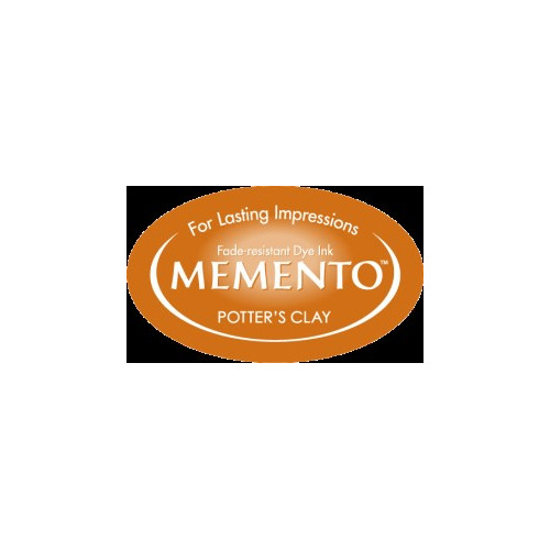 MD-000-801 Memento Inkpad Dewdrops Potter`s clay