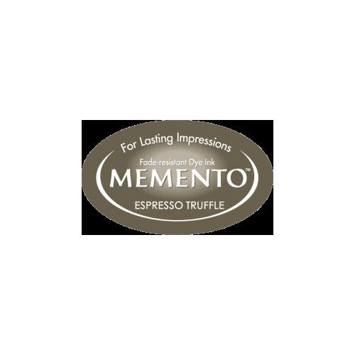 MD-000-808 Memento Inkpad Dewdrops Expresso Truffle