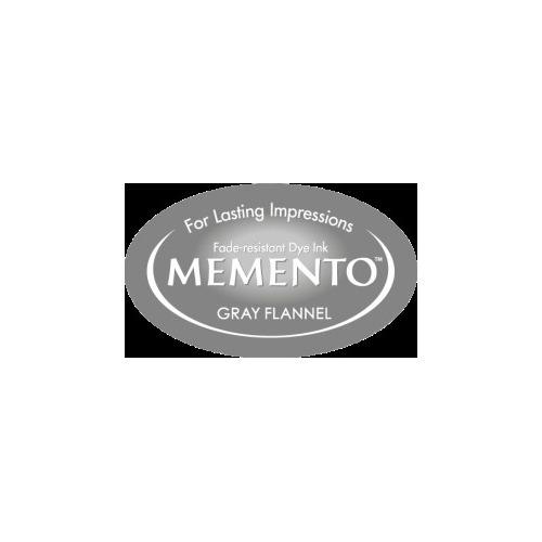 MD-000-902 Memento Inkpad Dewdrops Gray Flannel