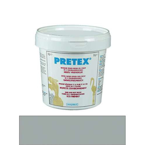 1 PT (1 PT) Decoratieverharder Pretex antraciet 1000 ML