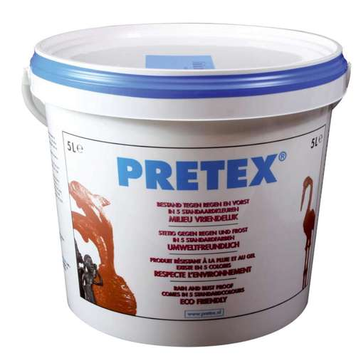 1 PT (1 PT) Decoratieverharder Pretex transparant 5000 ML