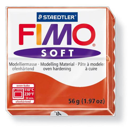 1 ST (1 ST) Soft indischrood 56GR