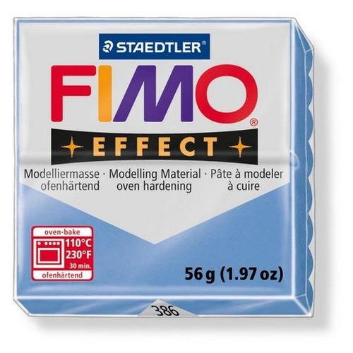 1 ST (1 ST) Effect gemstone agaatblauw 56GR