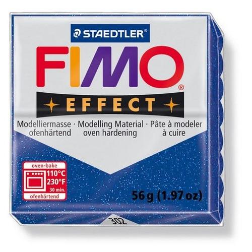 1 ST (1 ST) Effect glitter blauw 56GR