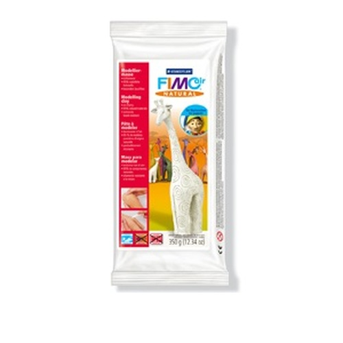 1ST (1ST)  Fimo air natural edelweis - wit 350GR