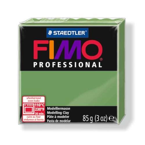 Fimo Professional 85g bladgroen