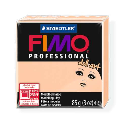 Fimo Professional Doll art 85g ondoorz. camee