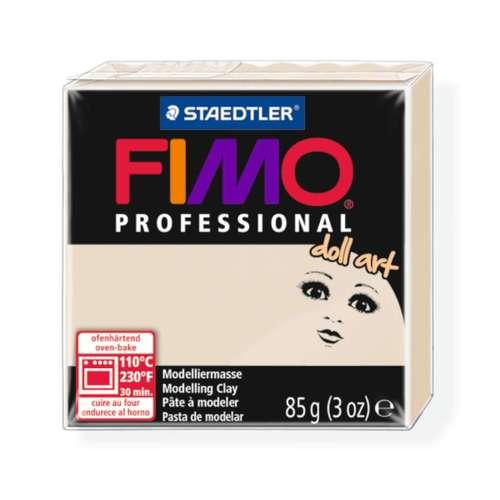 Fimo Professional Doll art 85g doorzichtig beige