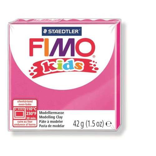 Fimo kids boetseerklei 42g pink